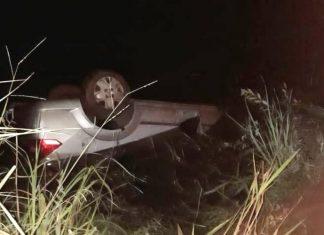 Três pessoas morrem em acidente. Foto: Corpo de Bombeiros/Divulgação/