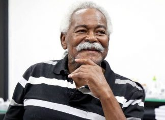 Ex-atacante do Santos, Coutinho morre aos 75 anos. Foto: Pedro Ernesto Guerra Azevedo/Santos
