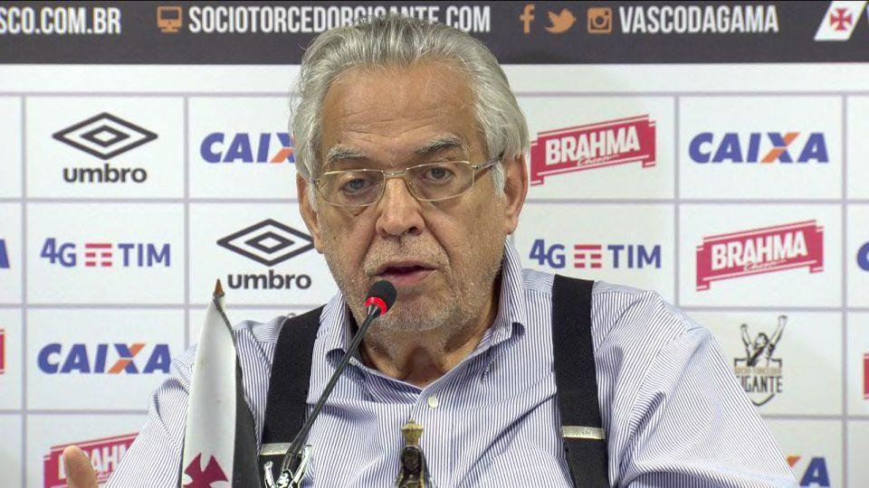 Eurico Miranda. Foto: Reprodução/TV Globo