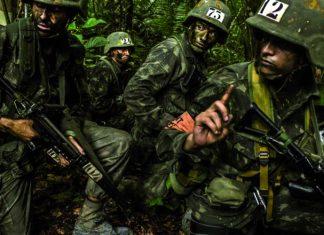 Militares durante treinamento. Foto: Exercito Brasileiro/Flickr