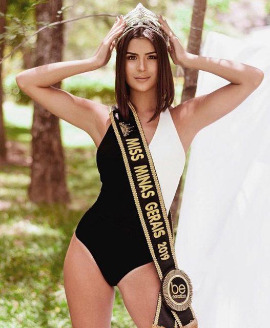 A mineira Júlia Horta, agora Miss Brasil. Foto: Reprodução