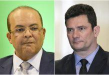 Ibaneis Rocha e Sérgio Moro. Foto: Reprodução