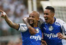 Palmeiras venceu em casa. Foto: Cesar Greco/Agência Palmeiras