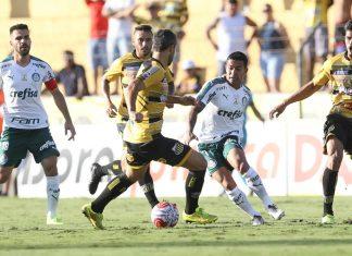 Novorizontino e Palmeiras empatam. Foto: Cesar Greco/Agência Palmeiras