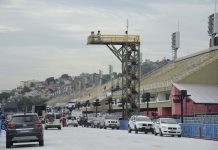 Sambódromo, na Marquês de Sapucaí,passará por inspeção prévia dos bombeiros. Foto: Fernando Frazão/Agência Brasil