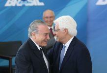 O ex-presidente Michel Temer e ex-ministro Moreira Franco. Foto: Antonio Cruz/Agência Brasil