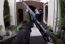 Terrorista entrou atirando. Foto: Reprodução