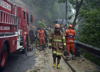 Temporal causa estragos no Rio de Janeiro. Foto: Fernando Frazão/Agência Brasil