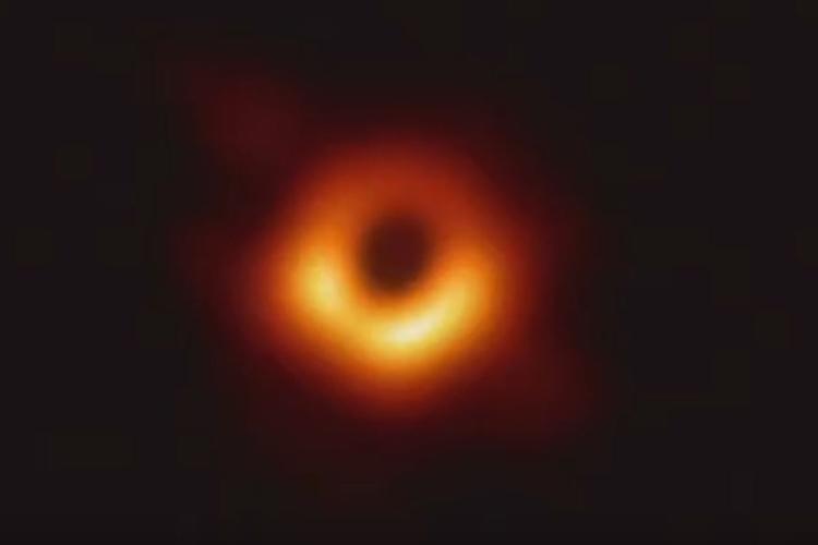 Imagem de um buraco negro foi apresentada ao mundo. Foto: National Science Foundation/Reprodução