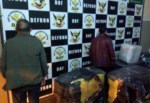 Contrabando foi apreendido em Dourados. Foto: Divulgação