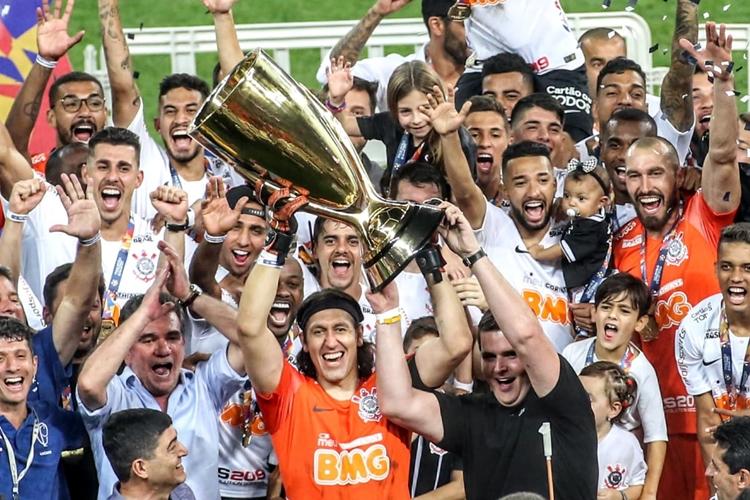 Corinthians é campeão Paulista 2019. Foto: Rodrigo Coca/Agência Corinthians