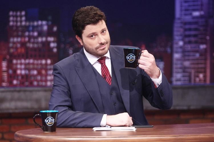 Danilo Gentili. Foto: SBT/Divulgação
