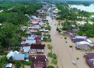 Número de mortos em inundações na Indonésia sobe para 31. Foto: Reprodução