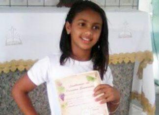 Menina de 11 anos morreu após tentar defender mãe de agressões na Bahia. Foto: Reprodução