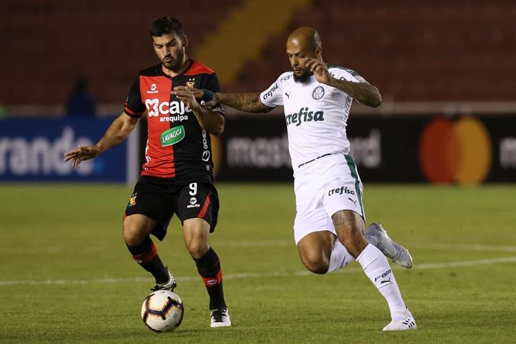 Palmeiras vence o Melgar. Foto: Cesar Greco/Agência Palmeiras
