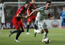 Lorenzo-ARG vence o Palmeiras. Foto: Cesar Greco/Agência Palmeiras