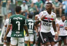 Nos pênaltis, Tricolor elimina o Palmeiras e está na final do Paulista. Foto: Rubens Chiri/São Paulo