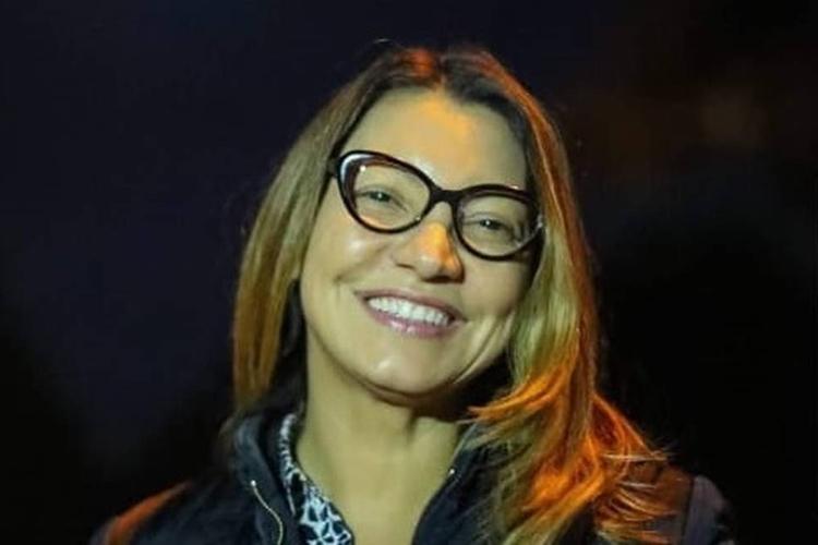 Rosângela da Silva em postagem em rede social. Foto: Reprodução