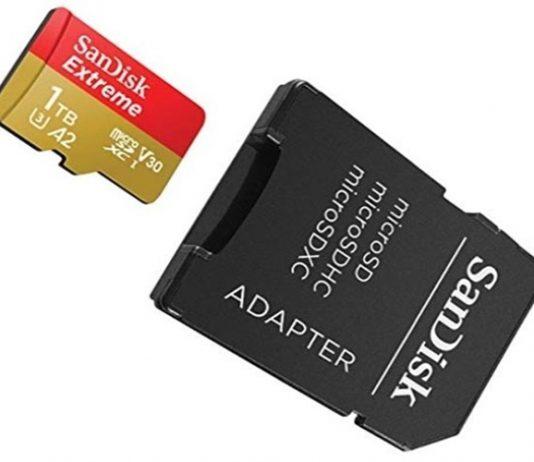 MicroSD de 1 TB da SanDisk. Foto: Reprodução