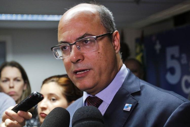 Wilson Witzel. Foto: Tânia Rêgo/Agência Brasil