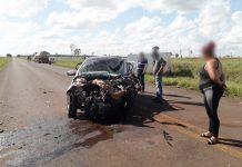 Mulher morreu na hora em acidente em Naviraí. Foto: Reprodução