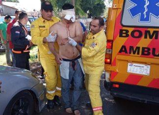 Brasileiro foi atendido no Paraguai após surto. Foto: Reprodução