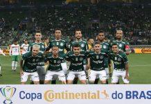 Palmeiras vence o Sampaio Corrêa. Foto: Cesar Greco/Agência Palmeiras