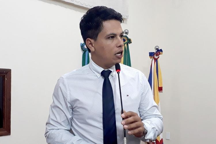 Vereador Júlio Cleverton dos Santos, o Júlio Buguelo (PT). Foto: Demerval Nogueira/Divulgação