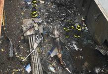 Imagem mostra destroços do helicóptero. Foto: @fdny/Reprodução/Twitter