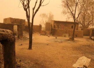 Aldeia, no Mali. Foto: Reprodução
