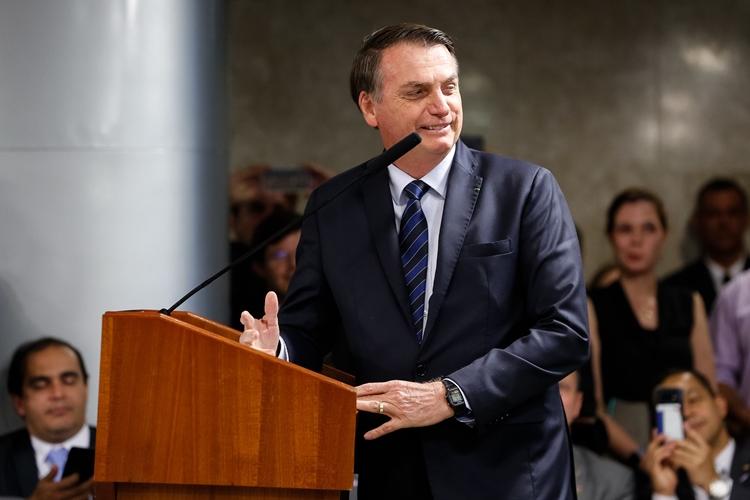 Jair Bolsonaro. Foto: Carolina Antunes/PR