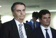 Bolsonaro e Moro. Foto: José Cruz/Agência Brasil