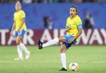 Jogadora Marta, do Brasil. Foto: Rener Pinheiro/MoWA Press