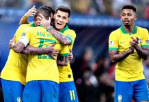 Brasil vence o Peru por 5 a 0. Foto: Pedro Martins/MoWA Press