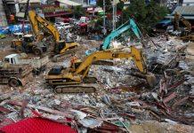 Desabamento deixa mortos no Camboja. Foto: Reprodução