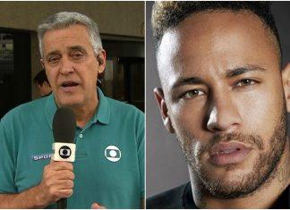 Mauro Naves e Neymar. Foto: Reprodução