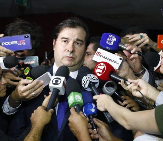 Maia questionou as regras de pedágio para os militares. Foto: Luis Macedo/Câmara dos Deputados