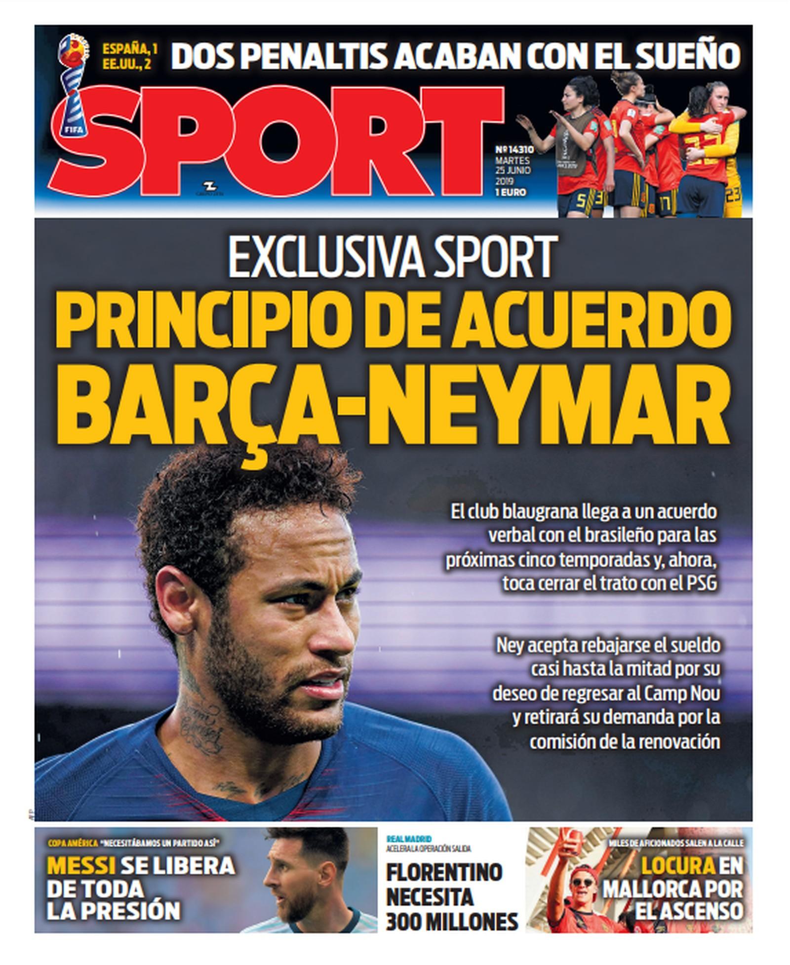 Barcelona chega a princípio de acordo com Neymar. Foto: Reprodução