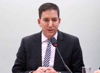 O jornalista Glenn Greenwald, editor do Intercept Brasil. Foto: Vinicius Loures/Câmara dos Deputados
