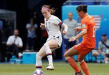 Estados Unidos e Holanda na final da Copa do Mundo. Foto: Reprodução