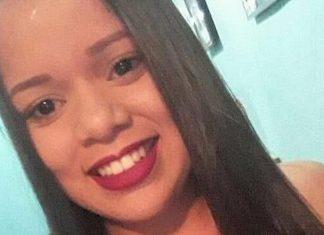 Mayara Estefanny teve rosto queimado pelo ex-marido, no Recife. Foto: Reprodução