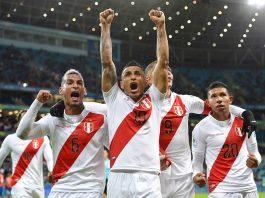 Peru está na final. Foto: Reprodução/Twitter/@CopaAmerica