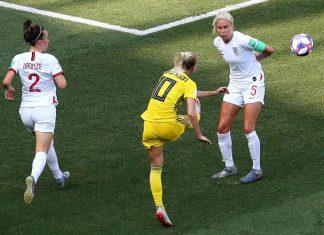 Suécia vence Inglaterra. Foto: FIFA/Reprodução