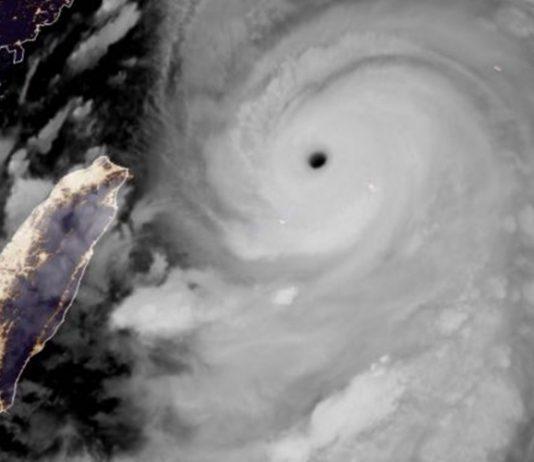 Super tufão Lekima. Foto: Reprodução