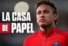 La Casa de Papel com Neymar. Foto: Reprodução