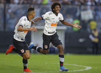 Talles marcou seu primeiro gol pela equipe profissional. Foto: Rafael Ribeiro/Vasco
