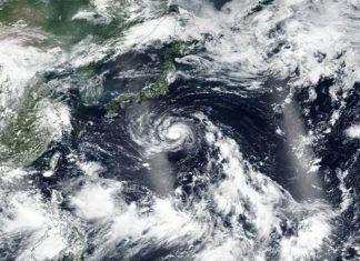 Tempestade Fransciso. Foto: Reprodução