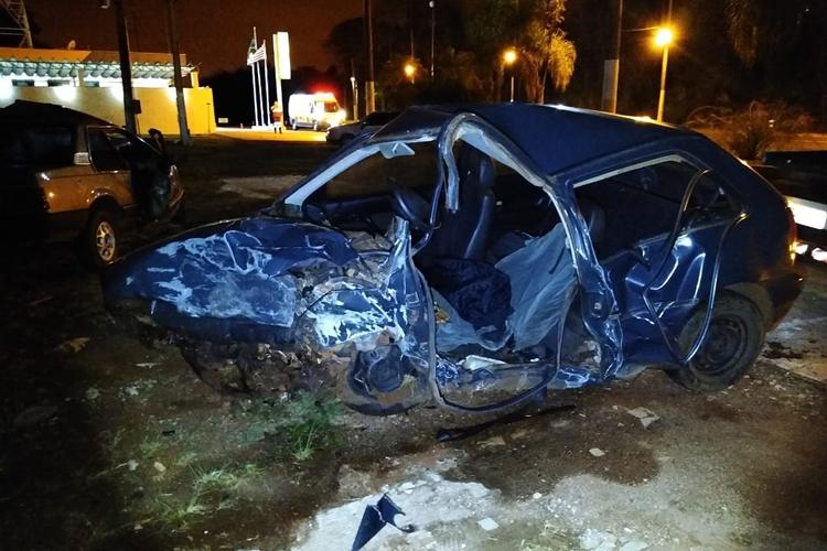 Acidente foi registrado em Avaré. Foto: Reprodução