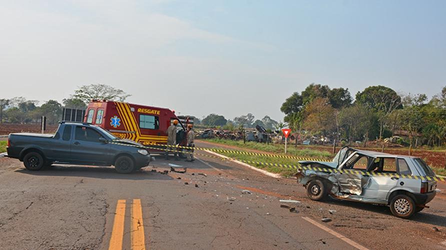 Homem morre em acidente em Culturama. Foto: Washington Lima/Fátima em Dia/Reprodução