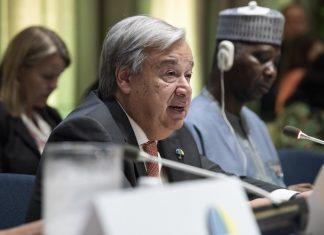 O secretário-geral da Organização das Nações Unidas (ONU), António Guterres. Foto: Kim Haughton/UN Photo/Flickr